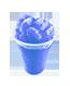 Tříšť modrá malina