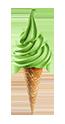 Frutta zelené jablko