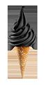 SOFT Černá sušenka